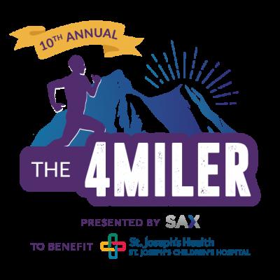 10th Annual 4 MILER logo