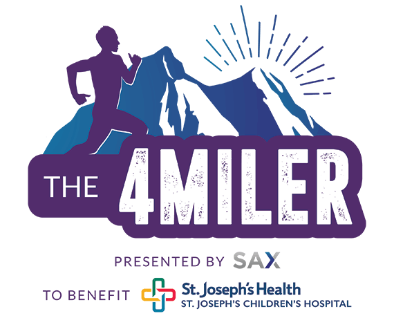 The 4 Miler Presented by Sax to Benefit St. Joseph's Children's Hospital