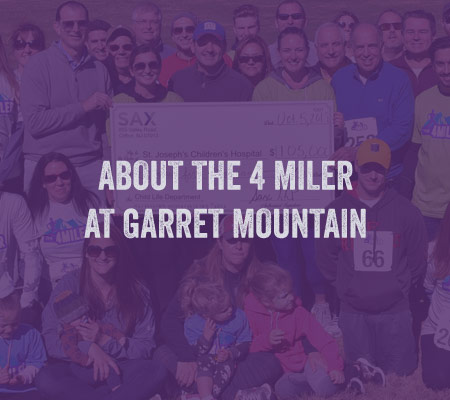 About the 4 MILER at Garret Mountain