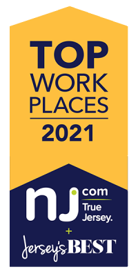 NJ.com Top Work Places of 2021