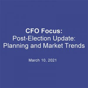 Post-Election Update: Planning and Market Trends