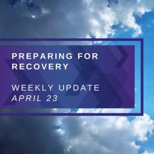 Weekly Update. April 23rd