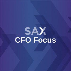 SAX CFO Focus