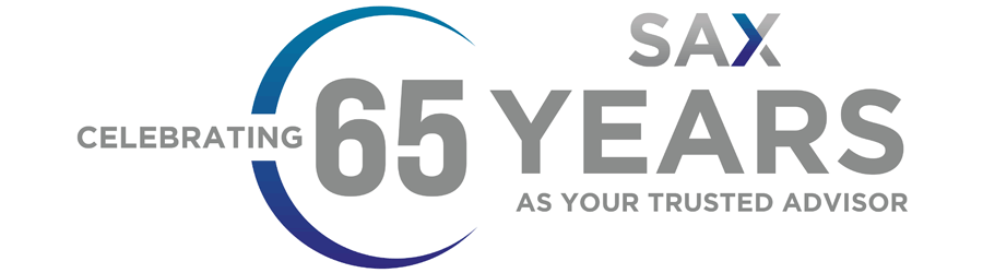 Sax celebrating 65 years as your trusted advisor.