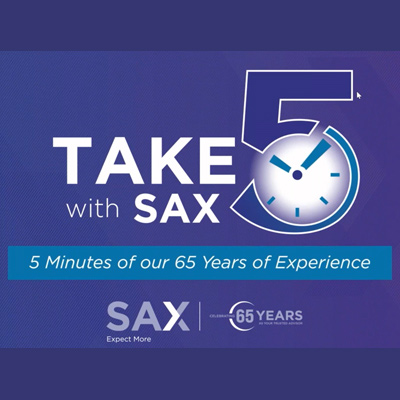 Take 5 With Sax